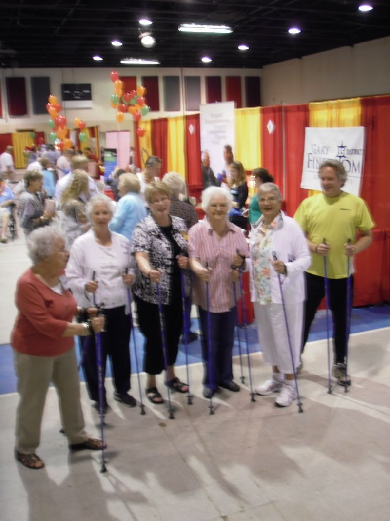 2010 Nordic Walking Class Senior Expo