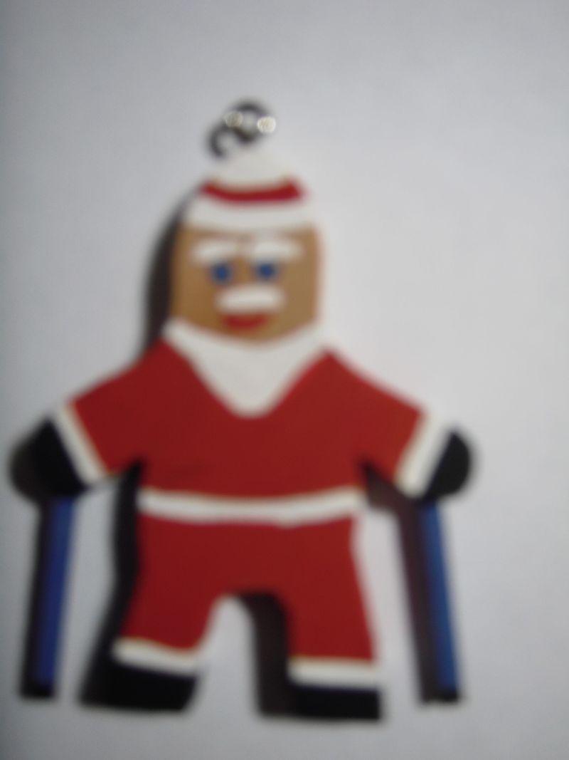 Nordic Walking Santa