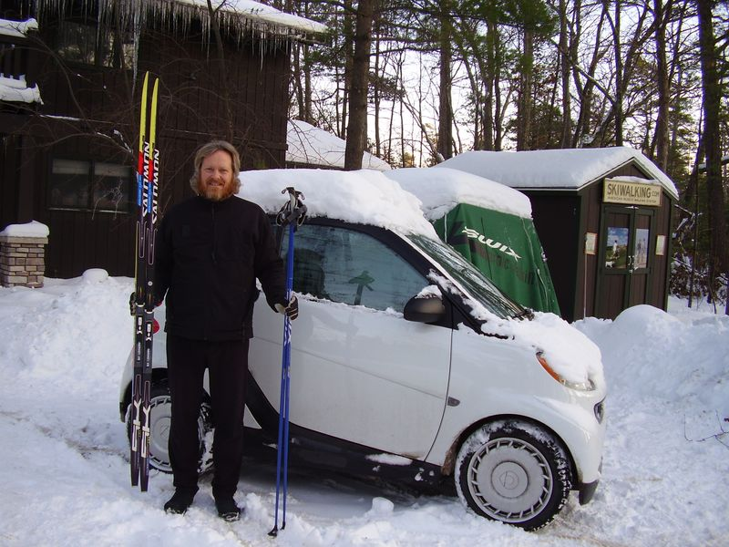 Smart car 206cm skis