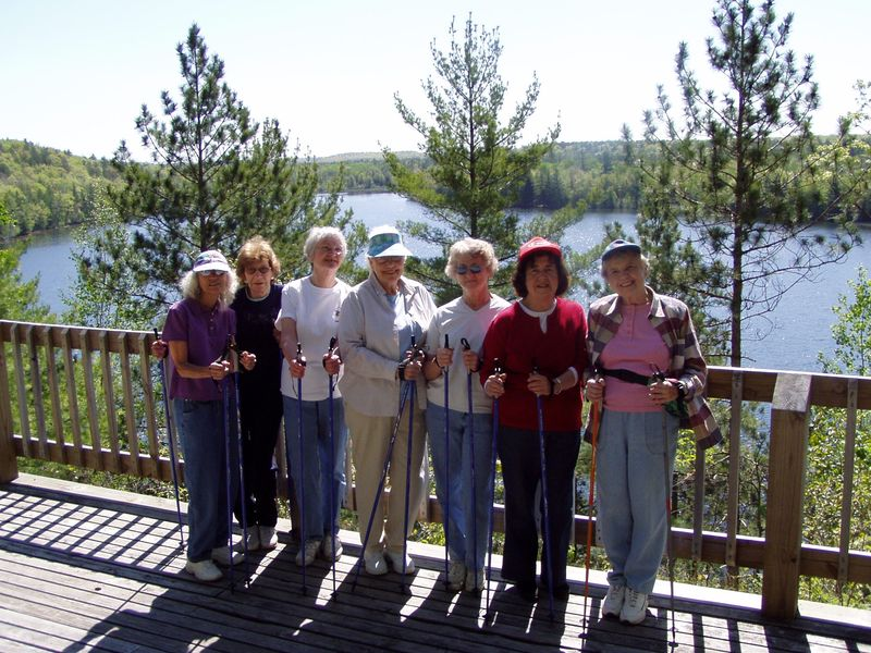 Nordic Walking - Traverse City Senior Center Hiking Club